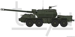 155mm ShKH vz.2000 'Zuzana' by T0RYU