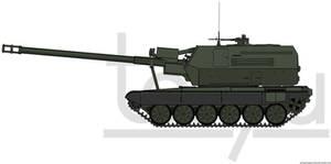 155mm ShKH T72 A40 'Himalaya' by T0RYU