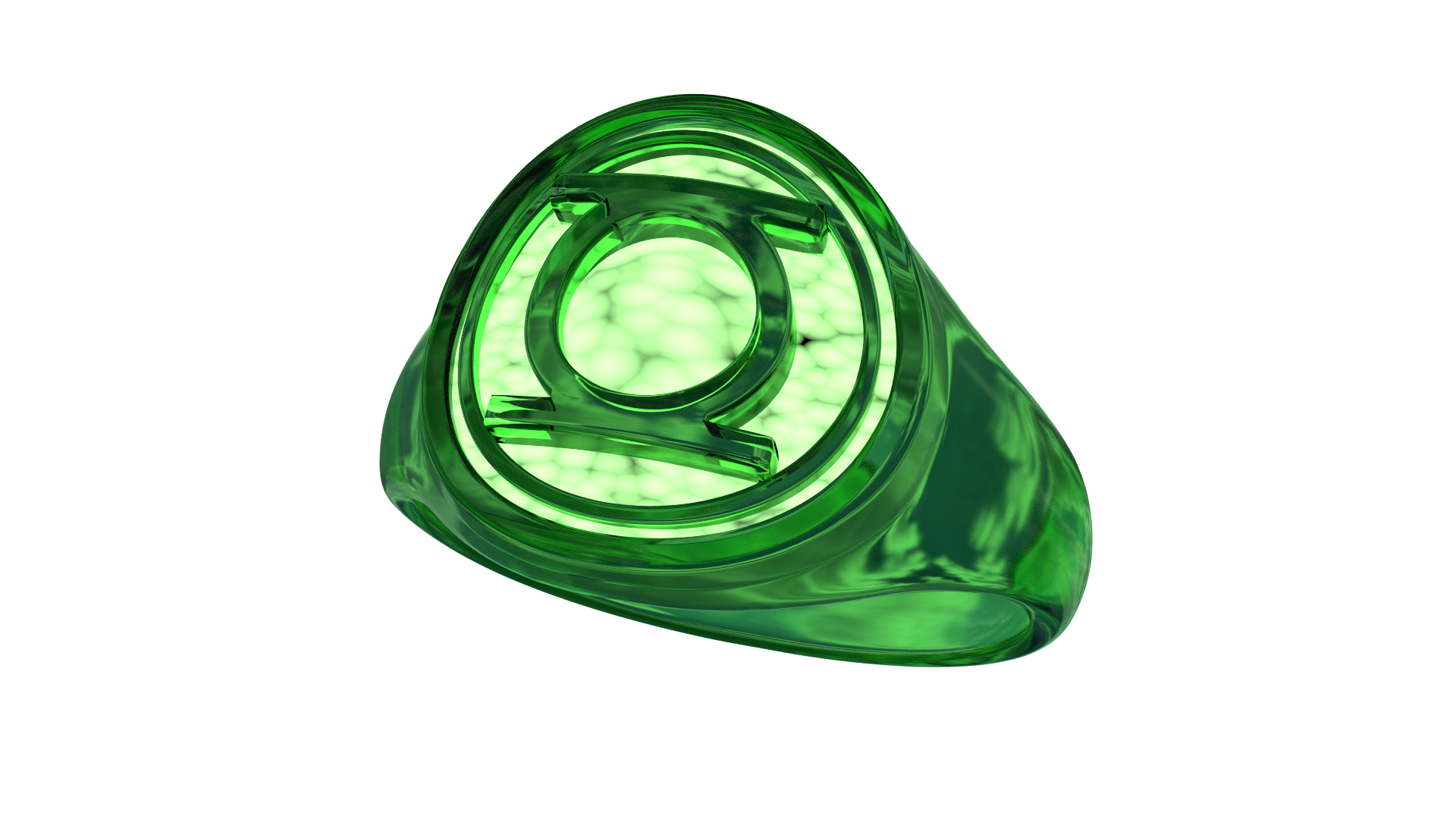 What Is A Lantern Power Ring Made Of