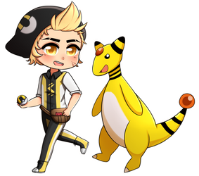 C- TBA and Ampharos