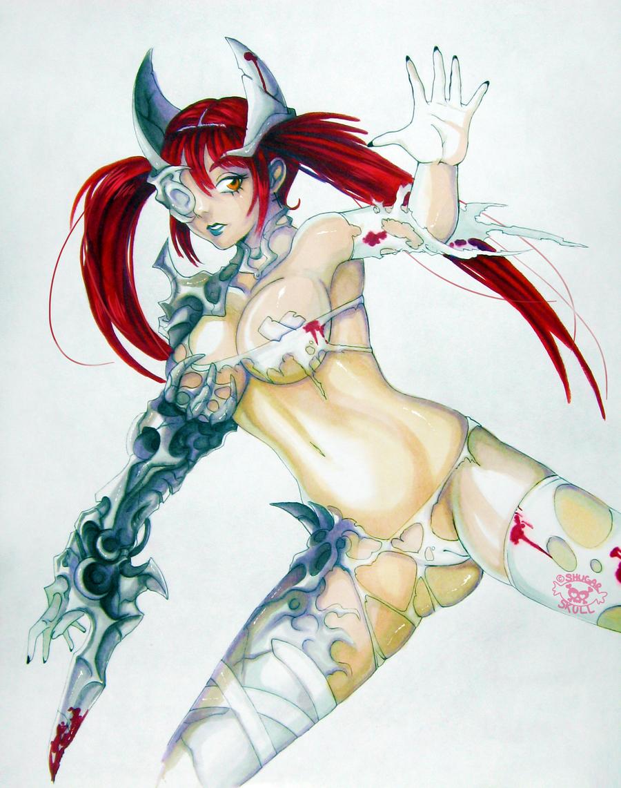 Liara by ShugarSketch
