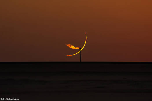 Crescent of 1st of Moharam