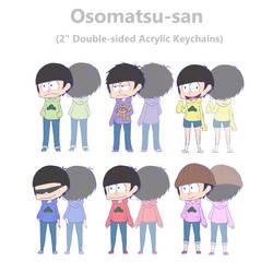 Osomatsu-san Charms by Keimiu