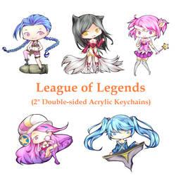League of Legends by Keimiu