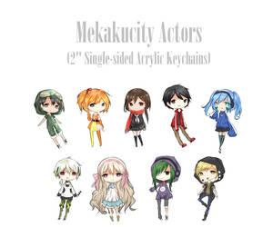 Mekakucity Actors by Keimiu