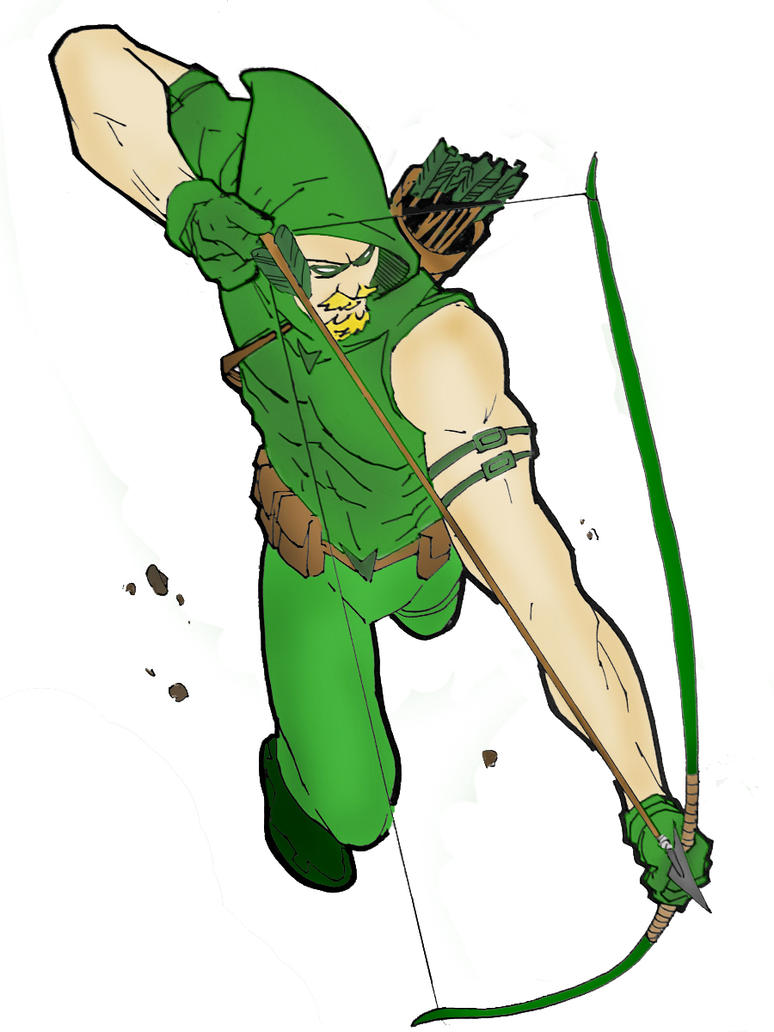 Green Arrow by Paranormal-Patricia