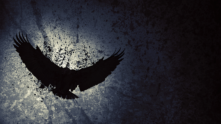 Blue Eagle Background 1366x768 by Celestial-Remains on