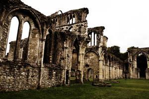 Netley Abbey - Ruins by Kaz-D