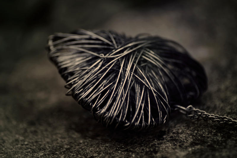 Day 221: Black Heart by Kaz-D