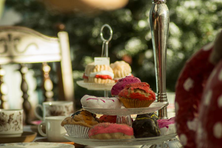 November Tea Party by Kaz-D