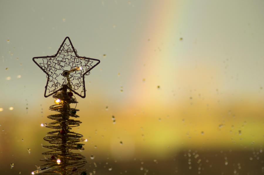 Rainbow Christmas by Kaz-D on DeviantArt