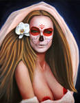 Mother of Orkhis - Day of the Dead by RockabillyReese