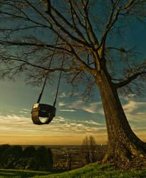 mountain swing by icondigital