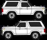 1980 Ford Bronco Third Generation