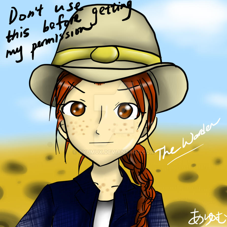 The Warden in Holes by ayumux on DeviantArt