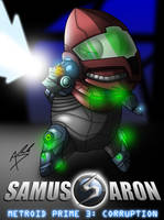 Samus Aron MP3 Edition by Arbok-X