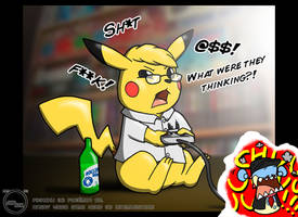 The Angry Video Game Chu by Arbok-X