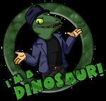 Rob Walker Is A Dinosaur!