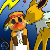 Electrifying Kisses