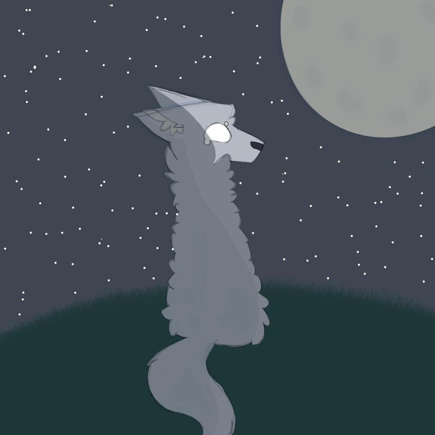 Stellar Wolf by Eternaspirit263