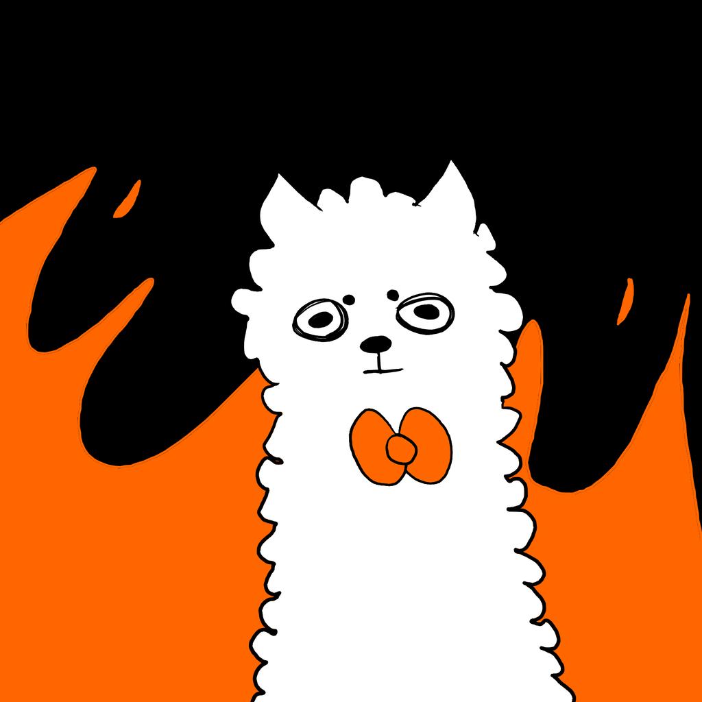 Fire Alpaca by Eternaspirit263