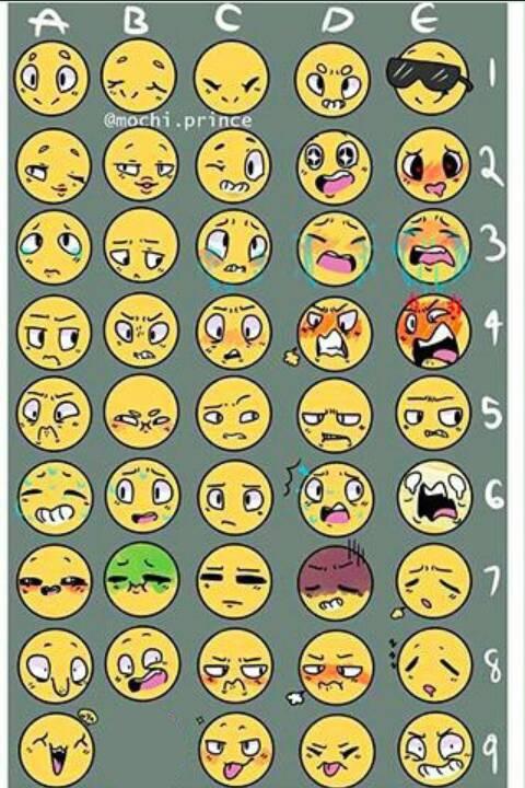 Character Emojis by Eternaspirit263