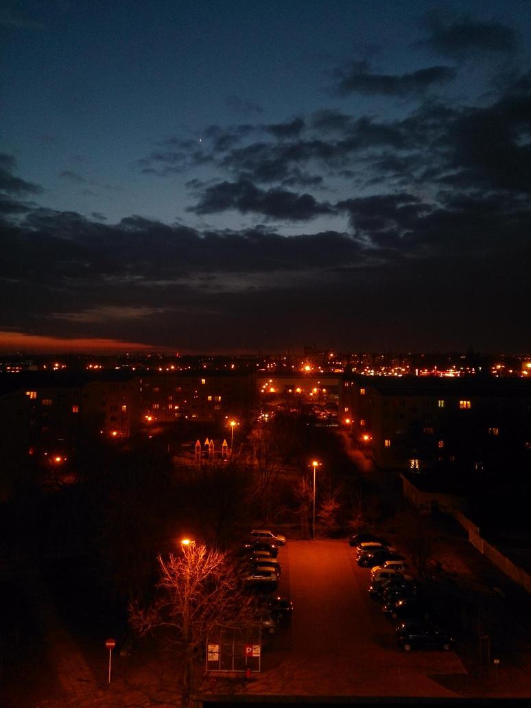Radiant night by Wilczyca-97