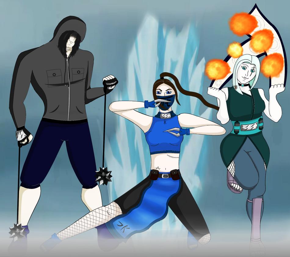 The Murder team by Wilczyca-97