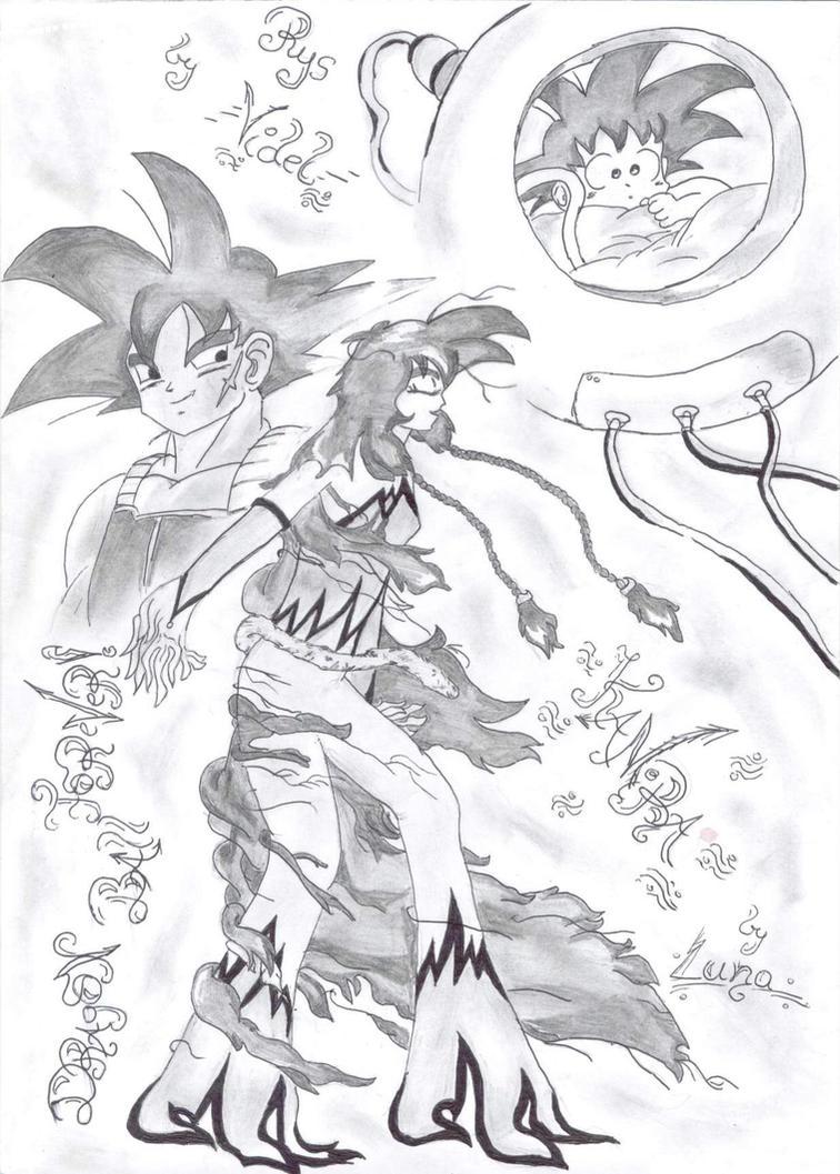 Goku's sister by SonLuna