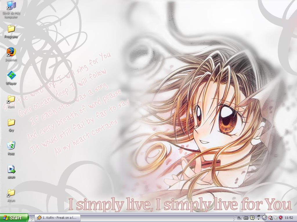 my desktop2 by SonLuna