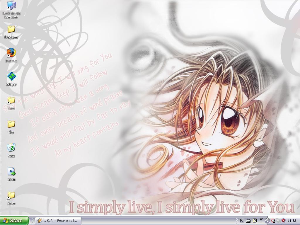my desktop2 by SonLuna