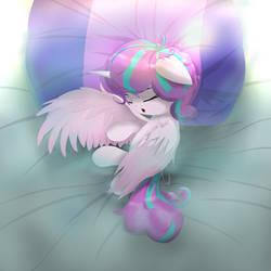 Sleeping Flurry Heart (Princess McFlurry) by NihiTheBrony
