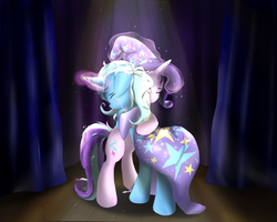 Trixie and Starlight - Trust by NihiTheBrony