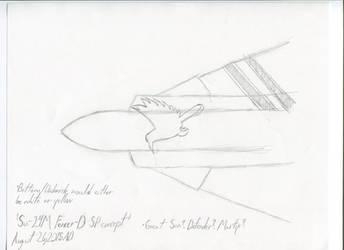 Ace Combat 6 Mod Concept- Su-24M Fencer SP Design by AlexGamma