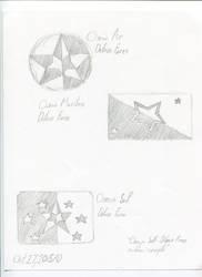 Osean Armed Forces Emblem Concepts by AlexGamma
