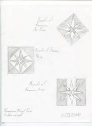 Emmerian Armed Forces emblem concepts by AlexGamma