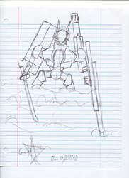 Mecha Bi-Month June Sketch 1 by AlexGamma