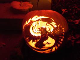 Pumpkin Phoenix by kashuneko