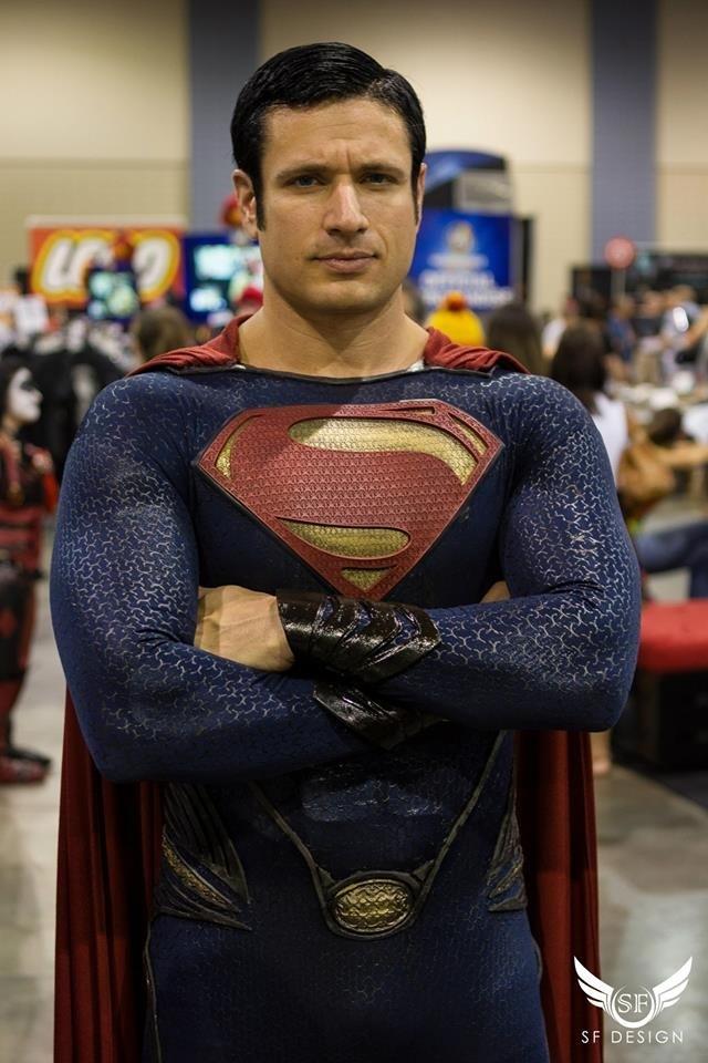 Man of Steel Wizard World Richmond Cosplay by xmanofsteelx ...