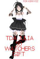 TDA Julia [50 WATCHERS GIFT] +DL by ApushMiku123