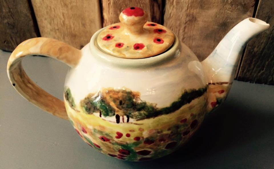 Teapot by brionyjones