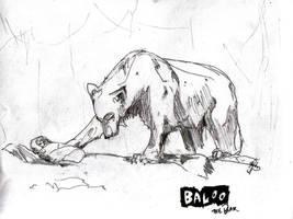 Baloo the Bear by scoresheat