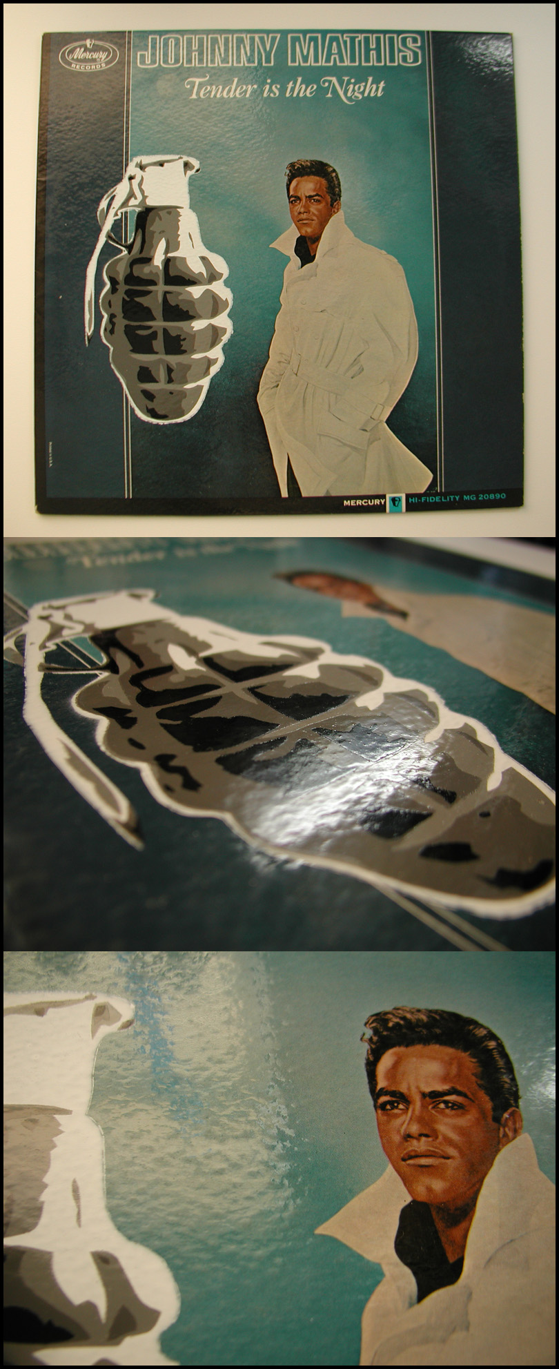 Grenade Johnny Mathis by truemarmalade