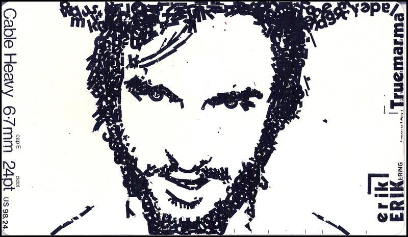 Letraset Portrait by truemarmalade