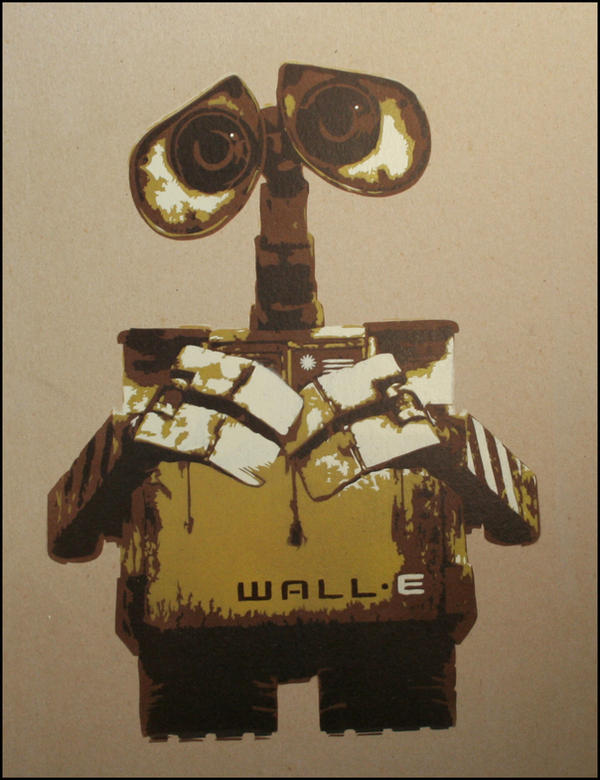 WALL-E by truemarmalade