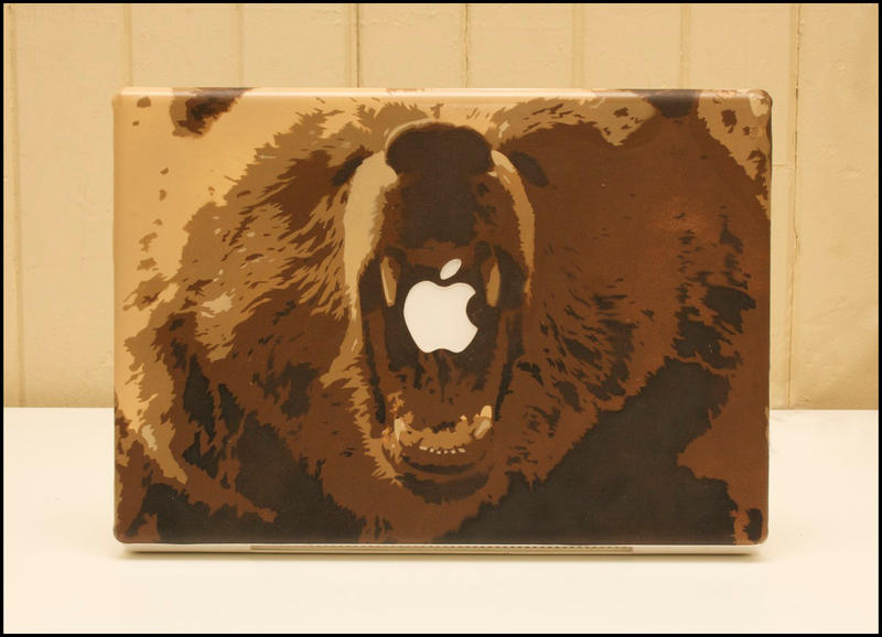 Grizzly MacBook by truemarmalade