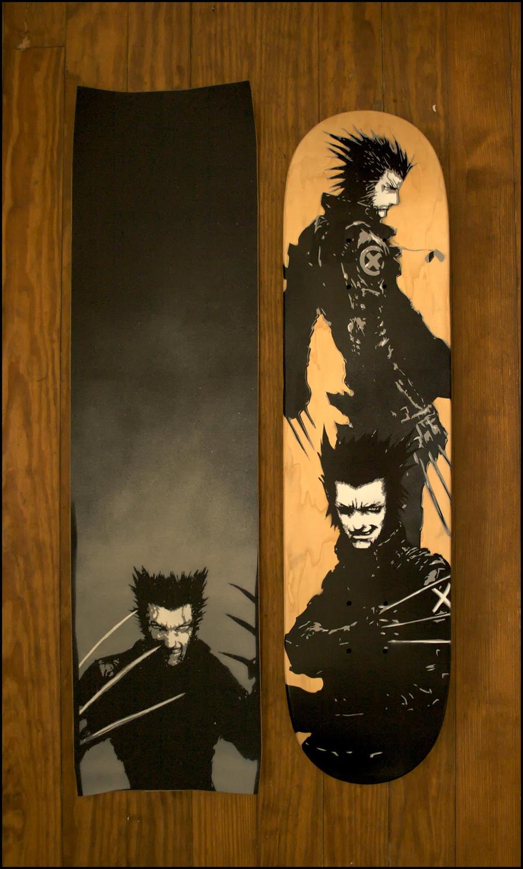 Wolverine Deck by truemarmalade