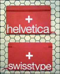 Helvetica Moleskine by truemarmalade