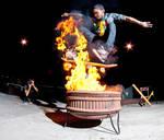 Kendall - ollie through fire
