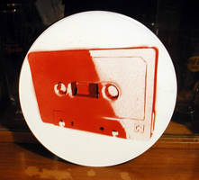 Cassette on vinyl
